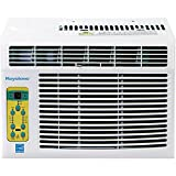 Energy Star 6,000 BTU Window-Mounted Air Conditioner with 'Follow Me' LCD Remote Control