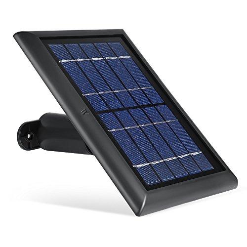 Wasserstein Solarpanel kompatibel mit Ring Spotlight Cam Akku und Ring Stick Up Cam Akku HD – kontinuierliche Stromversorgung Ihrer Ringkamera mit unserem...