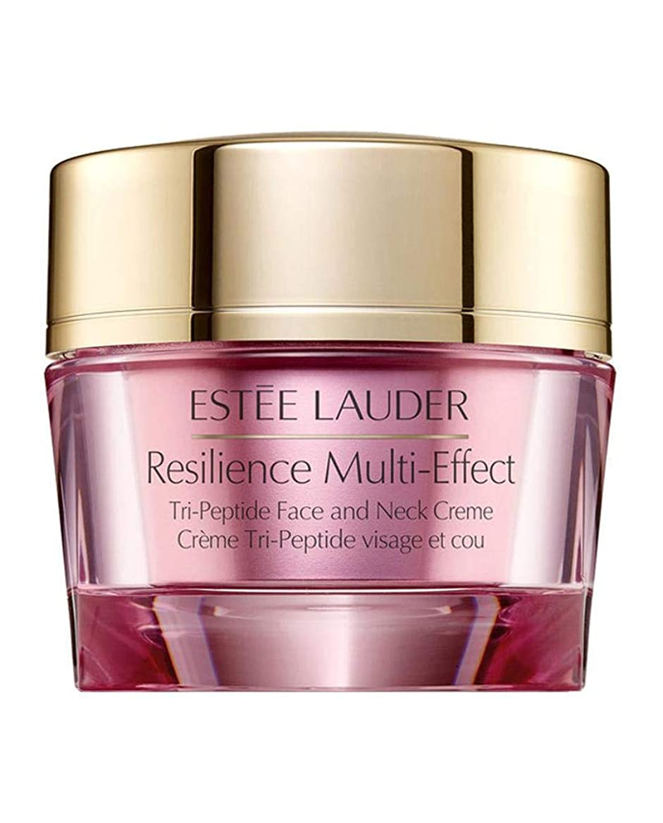 エスティローダー Resilience Multi-Effect Tri-Peptide Face and Neck Creme SPF 15 - For Normal/Combination Skin 50ml/1.7oz並行輸入品