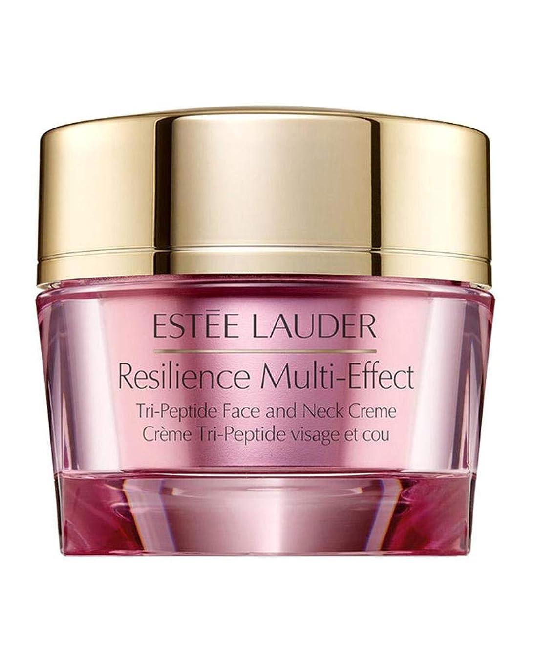 従事する独特の強調するエスティローダー Resilience Multi-Effect Tri-Peptide Face and Neck Creme SPF 15 - For Normal/Combination Skin 50ml/1.7oz並行輸入品