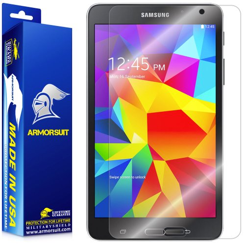 ArmorSuit MilitaryShield Screen Protector for Samsung Galaxy Tab 4 8.0 (T330/T337) - [Max Coverage] Anti-Bubble HD Clear Film