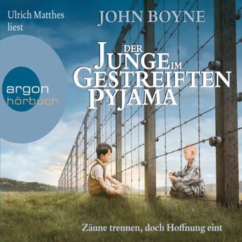 Der Junge im gestreiften Pyjama                   Written by:                                                                                                                                 John Boyne                               Narrated by:                                                                                                                                 Ulrich Matthes                      Length: 5 hrs and 12 mins     Not rated yet     Overall 0.0
