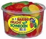 Haribo – Fruit Escargots – Gomme de vin – Boîte de 150 pièces