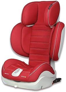 Playxtrem Estel Fix 106214F 867 - Silla de coche con Isofix para grupo 2 y 3, Color Rojo