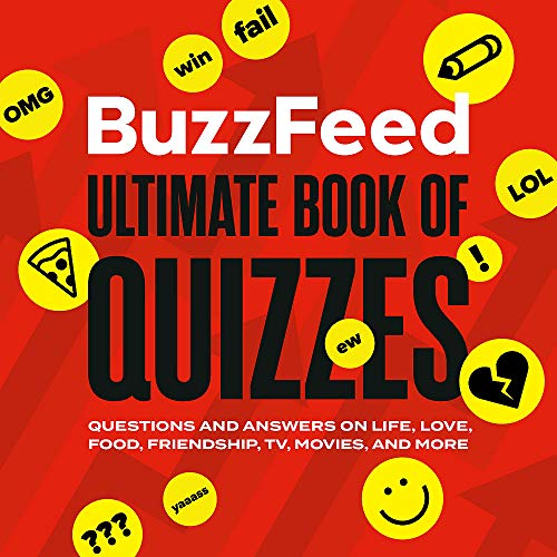 Compare Textbook Prices for BuzzFeed Ultimate Book of Quizzes: Questions and Answers on Life, Love, Food, Friendship, TV, Movies, and More  ISBN 9780762499403 by Buzzfeed