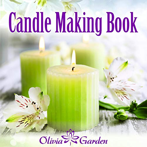 Candle Making Book audiobook cover art
