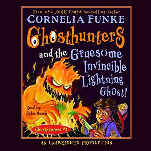 Ghosthunters and the Gruesome Invincible Lightning Ghost audiobook cover art
