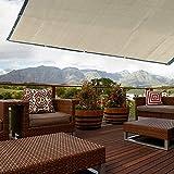 Liyeehao Gardens Sun Shade Cover Net Mallas de Sombra, Sunlight Protection Sun Shade Net, HDPE Material Plegable para Patio Cubierto de Herramientas Suministros de Sombra Balcón(2 * 2 Meters)