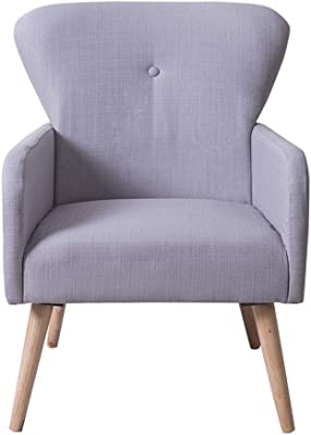 Amazon.com: Silla de sofá de tela, taburete de decoración ...