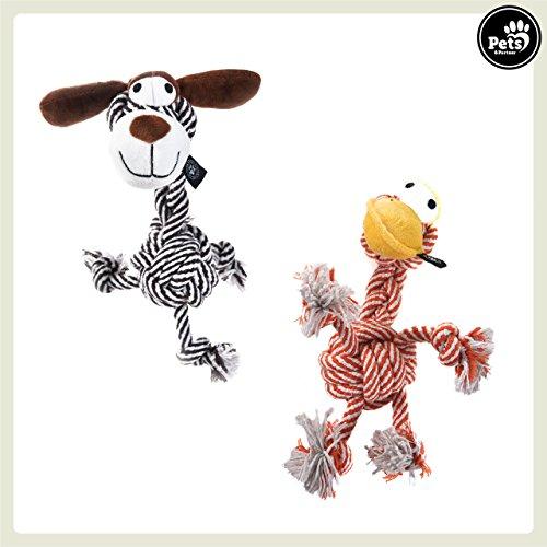 Pets&Partner® Hundespielzeug Kautier, Giraffe für kleine und mittlere Hunde