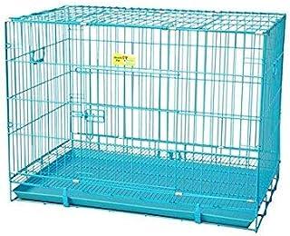 PSK PET MART Blue, 24 Inch Metal Dog Cage