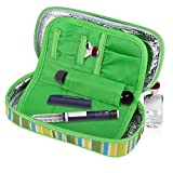 Portable Diabetic Insulin Cooler Bag, Organizer Medical Insulation Cooling Travel Case with Removable Liner for Outdoor/Travel