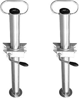 UNITRAILER Set: twee vaste houders met klemmen voor hanger 60 cm - fi 48 mm