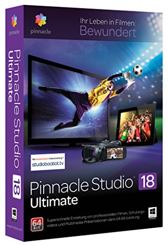 Pinnacle Studio 18 Ultimate + Green Screen (exklusiv bei Amazon.de)