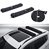 Orion Motor Tech 34 Inch Universal Car Soft Roof Rack Pad, with Adjustable