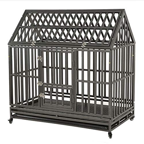 KELIXU Heavy Duty Dog Crate