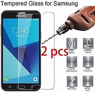 واقيات شاشة الهاتف من TOMMY-Phone - قطعتين واقي شاشة 9H HD لهاتف Samsung Galaxy S7 S6 S5 S4 Mini من الزجاج الصلب الصلب الم...