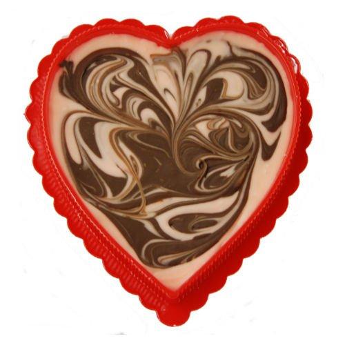 Valentine Heart - 8 Oz Arlington Mall Of Great Swirl Chocolate Fudge Trust Amaretto