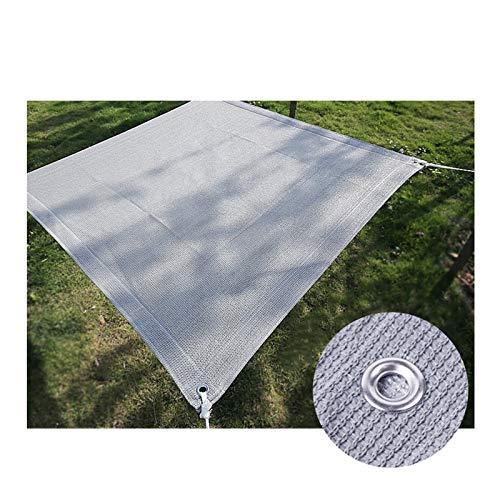 XXHJWXCM Netttage de l'ombre, Tissu d'ombrage de crème Solaire, bâche de Maille de Tissu résistant aux UV pour la Serre de la Plante de Serre ombragée bordée écoulée (Size : 3×5M)
