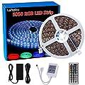 Lahoku LED Strip Light, 5050 SMD RGB Multi-color Changing Tape Light for Kitchen, Cabinet, Bedroom, Home Decoration …