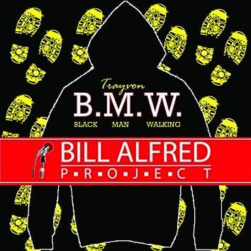 Trayvon Black Man Walking BMW