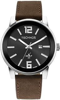 Relógio, Analógico, TECHNOS, 2115MXB/0P, masculino, Marrom
