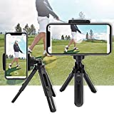Golf Phone Holder Clip Golf Swing Recording Training Aids,Record Golf Swing/Short Game/Putting,Golf Accessories,Universal Smartphone Holder for the Golf Trolley,car Holder,Mobile phone holder,Selfi