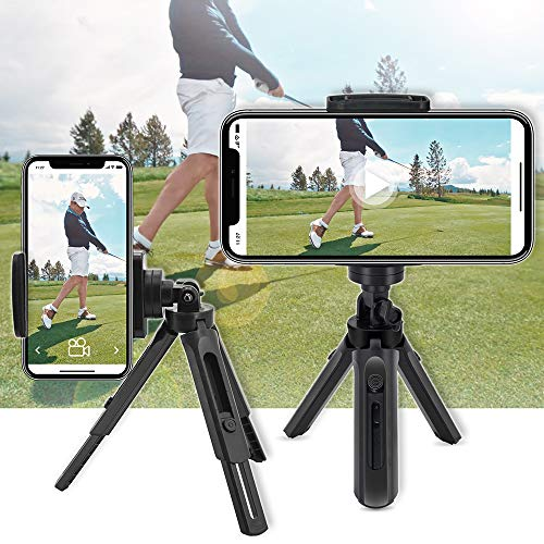 Golf Phone Holder Clip Golf Swing Recording Training Aids,Record Golf Swing Short Game Putting,Golf Accessories,Universal Smartphone Holder for the Golf Trolley,car Holder,Mobile phone holder,Selfi