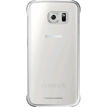Samsung Clear Cover - Funda oficial para Samsung Galaxy S6 Edge ...