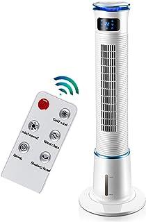 ZQ- Aire Acondicionado Ventilador de enfriamiento Tipo de Torre de Control Remoto refrigerador de Aire doméstico pequeño más Agua Aire Acondicionado pequeño (110X36CM) ^_^