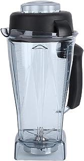 Kit d'accessoires de remplacement de lame de couvercle de tasse de récipient de mélangeur transparent 64oz adapté à Vitamix