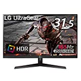 LG ゲーミングモニター UltraGear 32GN600-B 31.5インチ/WQHD/VA非光沢/165Hz/HDR/FreeSync Premium/1ms MBR/HDMI×2,DisplayPort