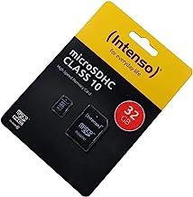 Lenovo C2 Tarjeta de Memoria microSDHC 32GB, Clase 10, High Speed, Adaptador SD, Velocidad r pida para Lectura y Escritura