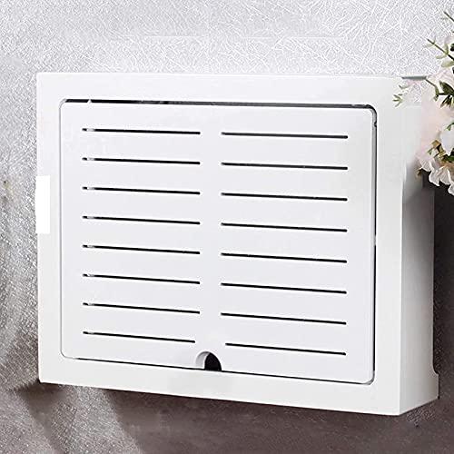 HSSZ Caja de Almacenamiento de Cables y Caja de Almacenamiento de Cables de enrutador Wi-Fi, Utilizada para Caja de arnés de cableado, Estante de Almacenamiento, Regalo para Amigos
