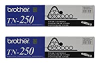 Brother TN250 Toner Cartridge, Black, by Brother