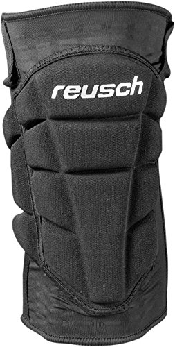 Reusch Ultimate Knee Guard – Ginocchiere, Uomo, Ultimate Knee Guard, black, XL