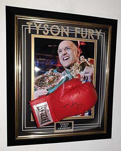 WBC Champion Tyson Fury signierter Boxhandschuh mit AFTAL DELAER Zertifikat