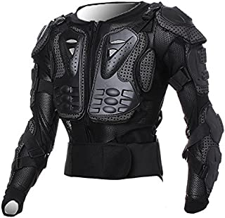Motorcycle Racing Enduro Body Armor Spine Chest Protective Gear Motocross ATV UTV Accessories Safety Protector Outdoor Sport Black Jacket Size M For Honda GL1200 Goldwing DE DG 1984 1985 1986 1987