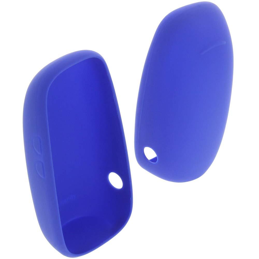 foto-kontor H/ülle f/ür Philips Avent SCD713 Tasche Gummi TPU Schutz blau