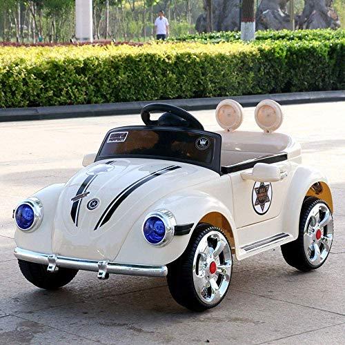 WGFGXQ Kinder Elektroauto Baby Allrad Fernbedienung TCar kann Menschen 1-3 Jahre alt Kind Aufladen Mädchen Autofahrt auf Fahrzeugen BGirl Swing RC Kind TCar Geschenk sitzen