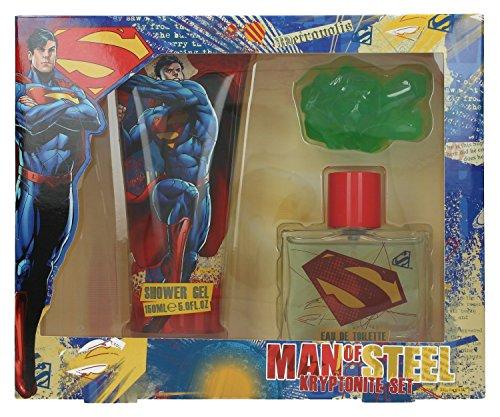 Superman - DC Comics Coffret Cadeau Eau de Toilette 50 ml + Gel Douche 150 ml + Savon