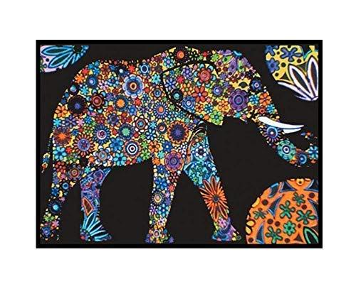 Colorvelvet - Disegno Elefante, 47 x 35 - L089