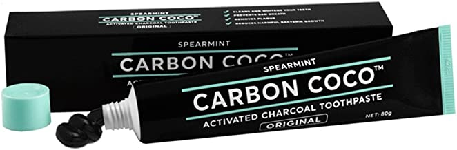 Carbon Coco activated charcoal toothpaste spearmint 80g