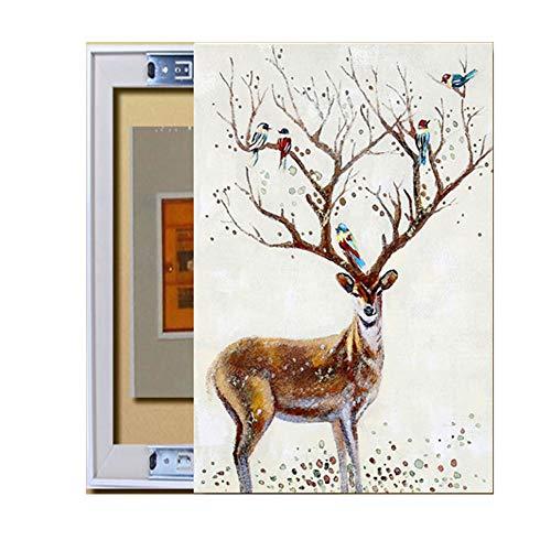 ZZKJXHJ Cuadro de Instrumentos Pintura Decorativa/Cuadro de medidor eléctrico Mural Minimalista Moderno/Cuadro...