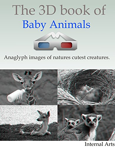 3D Book of Baby animals (English Edition)