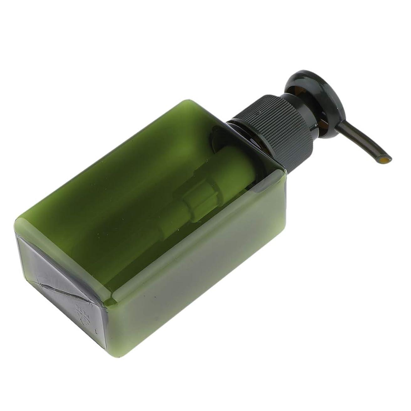 コンクリート豪華なカカドゥB Baosity 化粧品ボトル ポンプディスペンサー 100ミリリットル 6色選べ - 緑