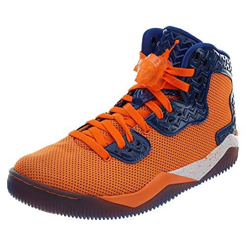 Jordan Men Air Jordan Spike Forty PE (Orange/Total Orange/Game Royal/White) Size 9.5 US