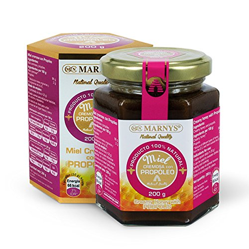 Marnys honing crème met propoleo 200 g, per stuk verpakt (1 x 1 stuks)