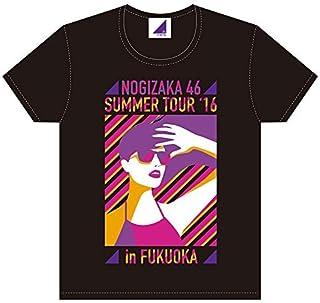 乃木坂46 真夏の全国ツアー 2016 Tシャツ 福岡ver. ブラック サイズL ~4th YEAR BIRTHDAY LIVE~