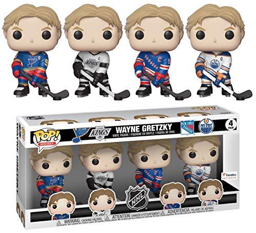 889698357913 Pop! Hockey NHL - Figura de vinilo (4 unidades)